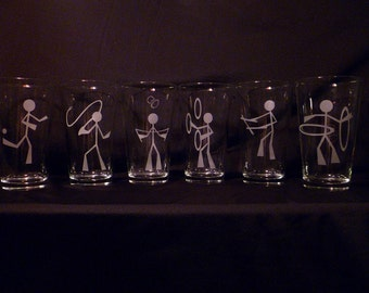 Juggling Glasses
