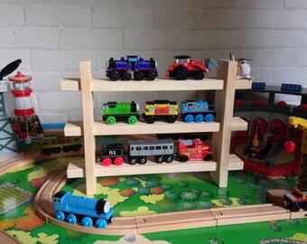 Toy Train Shelves To Organize And Display Wooden Toy Trains (Thomas,  Chuggington, Brio