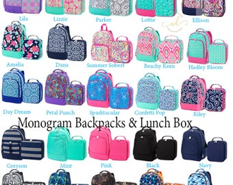fdae14479 Monogram Backpack, Personalized School bag, monogram book bag, monogram  school bag, personalized book bag, personalized school bag, book bag