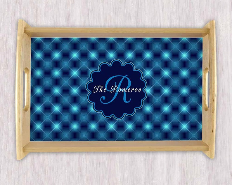 Christmas platters Breakfast in Bed Gifts Housewarming Gift Cheese Tray Serving Tray Personalized Tray Wedding Gift Monogram Tray