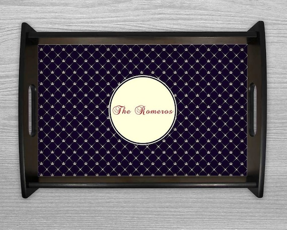 Christmas Platters And Trays.Serving Tray Monogram Tray Wedding Gift Christmas Platters Housewarming Gift Personalized Tray Gifts Cheese Tray Breakfast In Bed