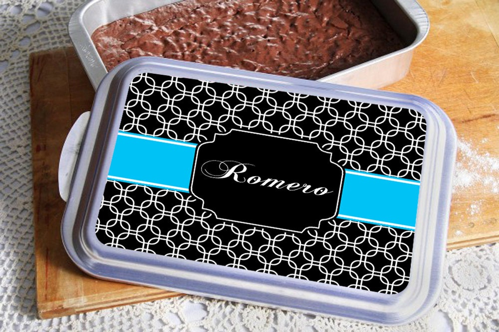 Cake Pansmonogrammed Giftchristmas Gift Ideawedding Giftbirthday