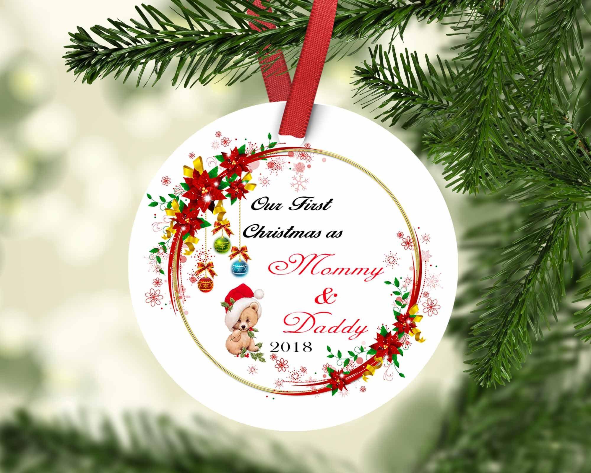 Merry Christmas Ornament,Housewarming Gift,Ornament,Christmas,Custom ...