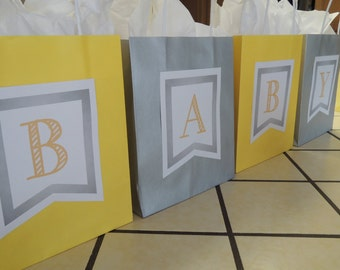 Smokey + Yellow Baby Shower Bag Game {Digital Download}