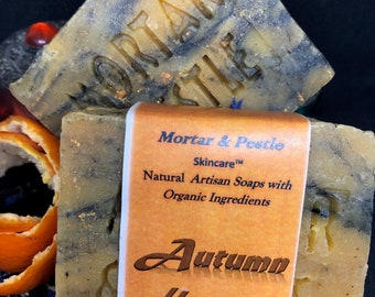 All Natural Soaps-  Autumn Harvest