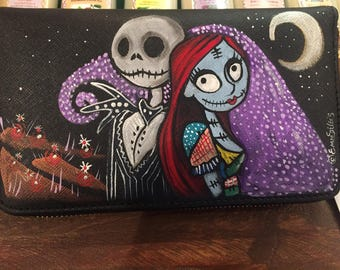 women's wallet - Jack and Sally