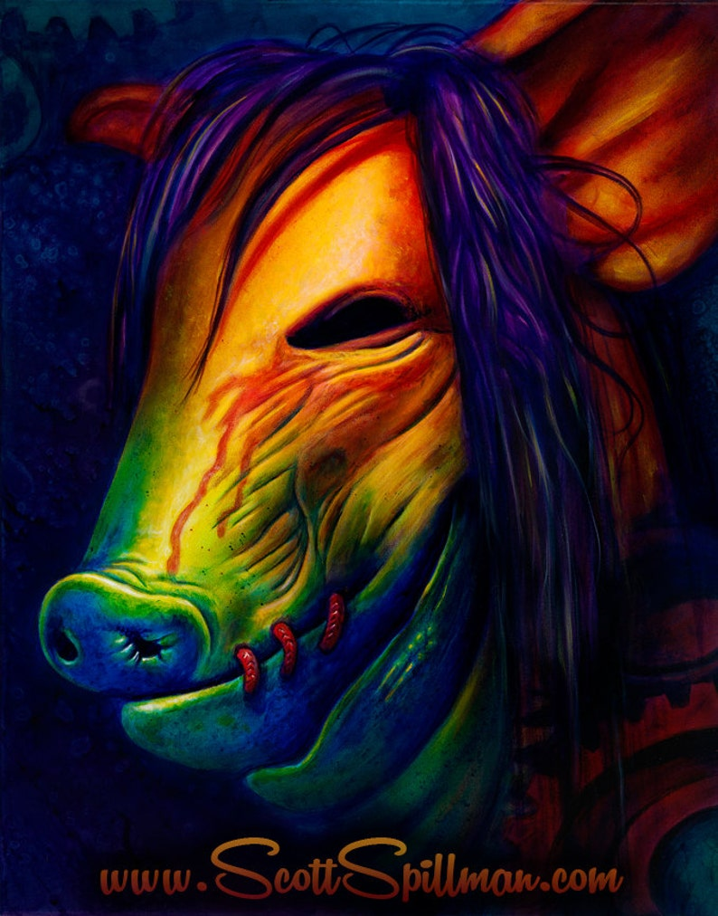 Pig Mask  11 x 14 Poster image 0