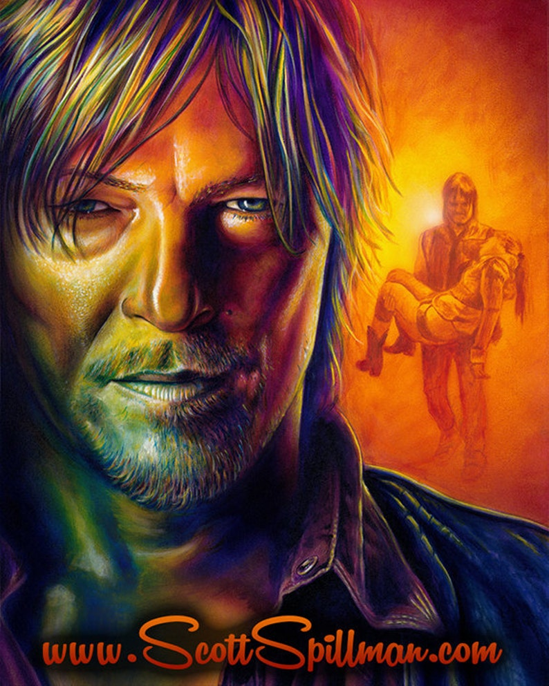 New Daryl Dixon Poster image 0