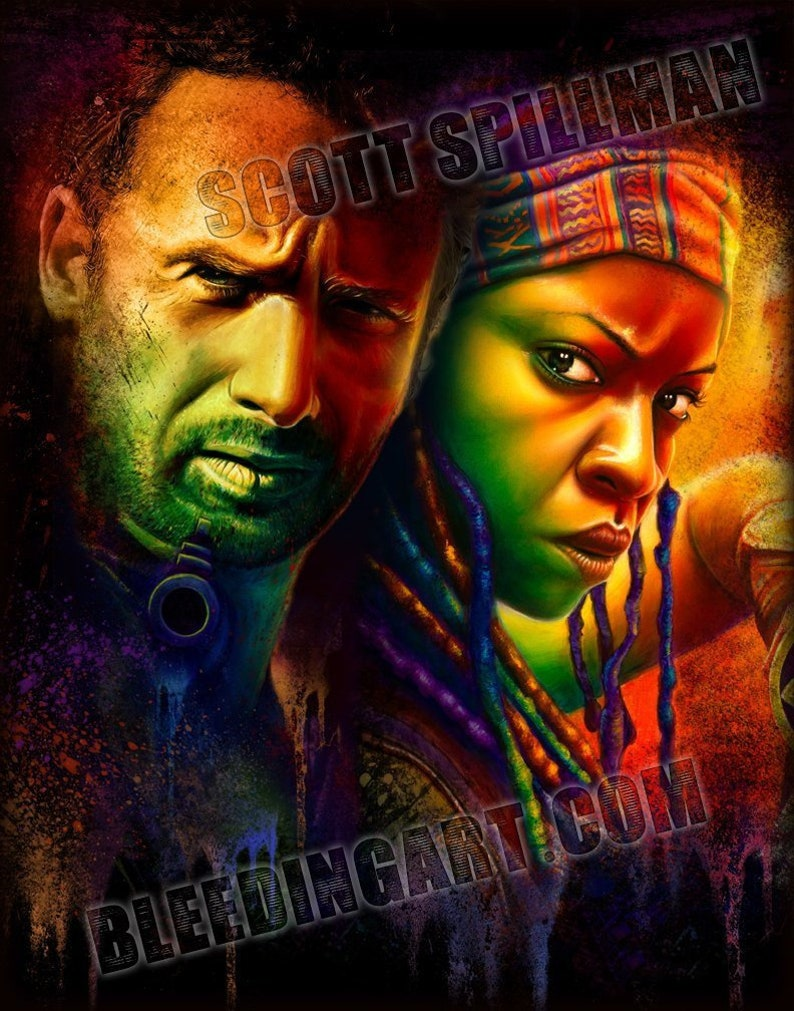 RICHONNE 11 x 14  Walking Dead poster image 0
