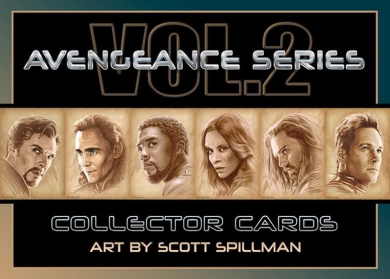 Avengers Card Set  Vol. 2 image 0