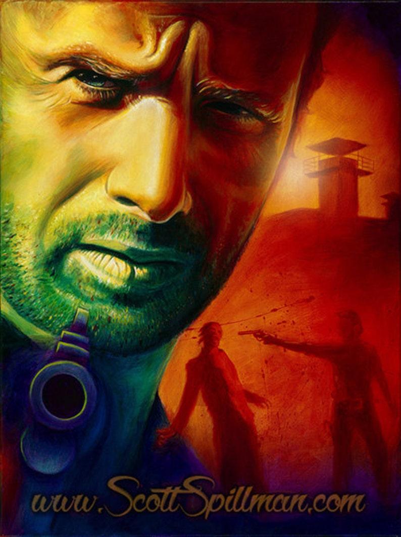 Rick Grimes 11 x 14  Walking Dead poster image 0