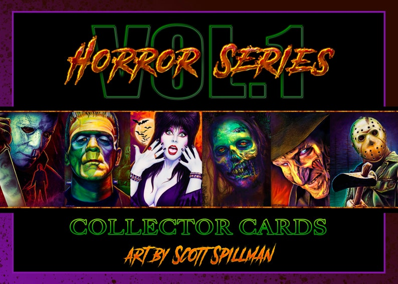 Horror Card Set  Vol. 1 Horror Volume 1