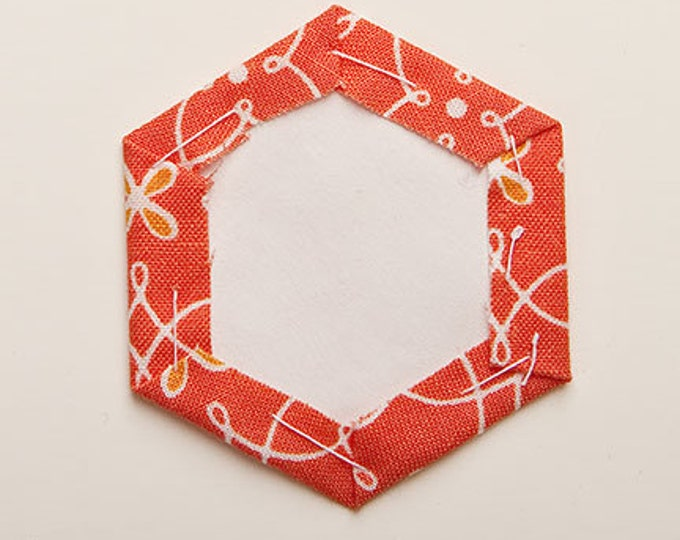 Featured listing image: Hexagon; Snowflakes Freezer Paper Shapes for English Paper Piecing and Applique
