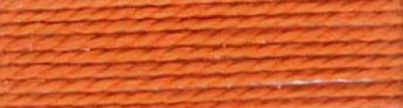 Copper Presencia Finca size 8 pearl cotton 7644