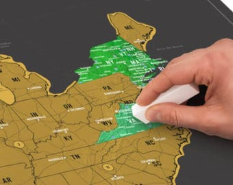 Scratch off map etsy scratch map usa track your travels on this united states of america map gumiabroncs Image collections