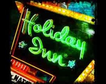 Holiday Inn sign photograph