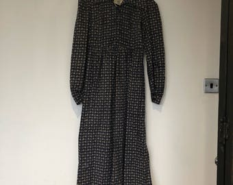 Laura  Ashley Vintage Seventies Smock Dress