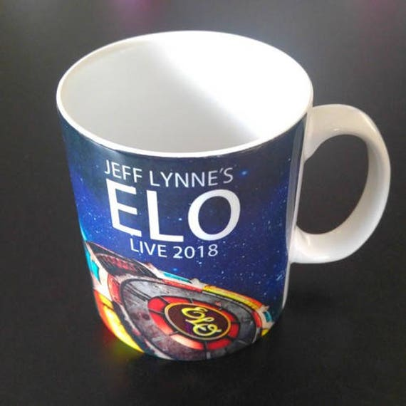 Jeff Lynne S Elo 2018 World Tour Personalised Mug Etsy