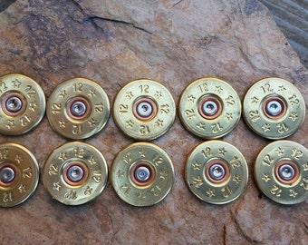 12 Gauge Shotgun Bullet Slices- lot of 10