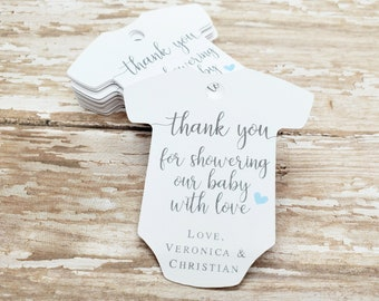 DOWNLOAD PUPPY1 Printable Favor Tags for Baby Shower Favor Tags for Baby Shower Dachshund Puppy Baby Shower Decorations Boy