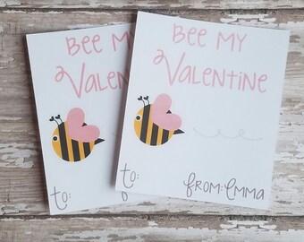 Bee My Valentine Etsy