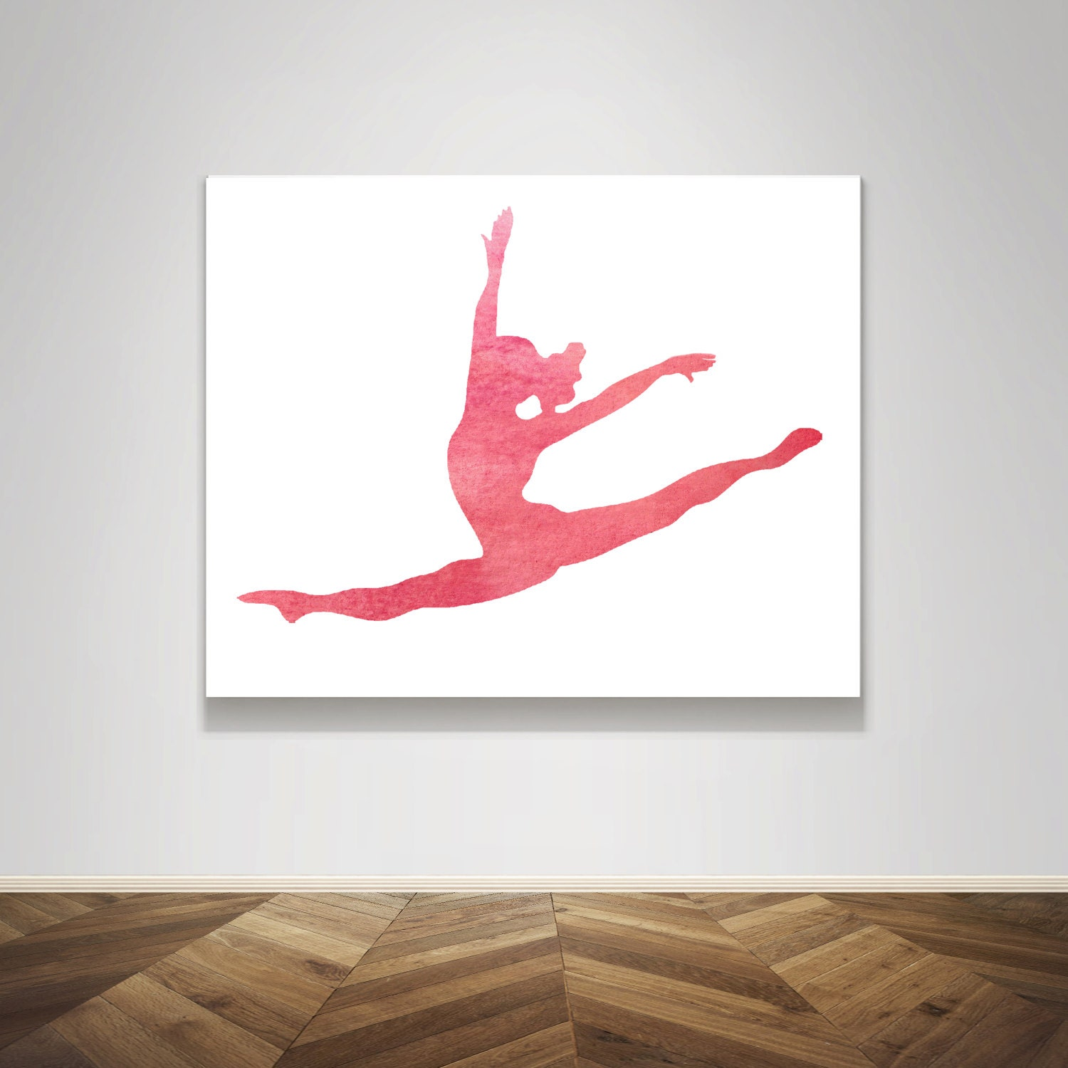 Instant download pink blush watercolor ballet dance dancer | etsy.