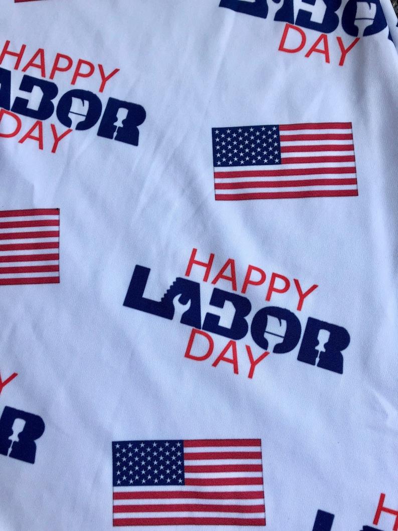 Labor Day Print Dress