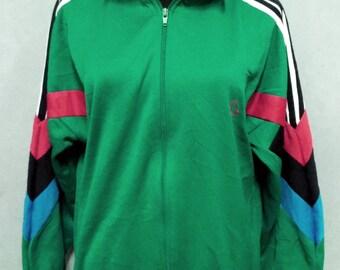 150138f3821 Vintage Jimmy Connors Jacket by Slazenger Tennis Outwear Sweater