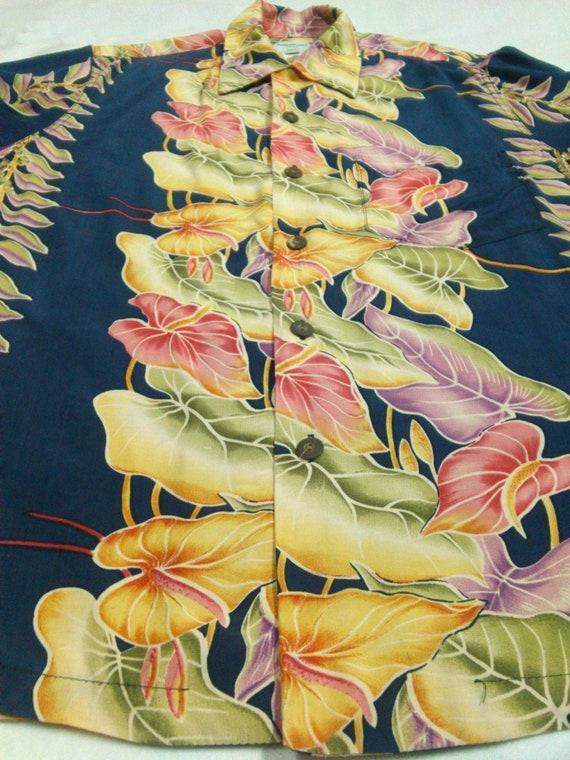 "Vintage Kamehameha Hawaiian Shirt ""M"" Rayon Aloha… - image 3"