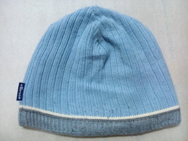 a1bc420b2 Vintage Ellesse Beanie Snow Cap Ski Hat Made in Japan