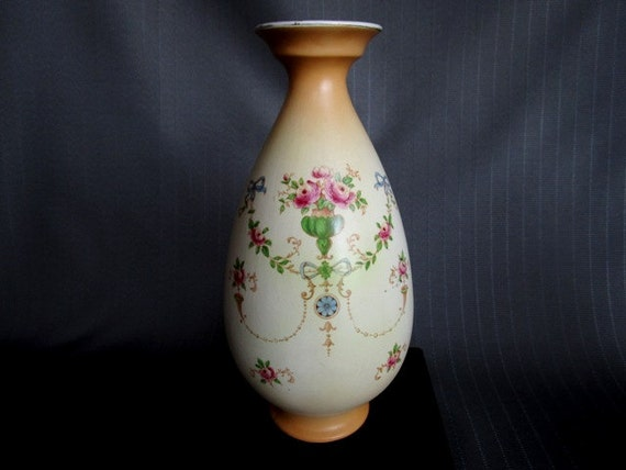 Vintage Vase Crown Ducal Ware Regal England 9 12 Antique Etsy