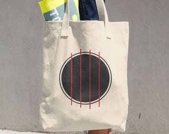 Four String Freak Cotton Tote Bag