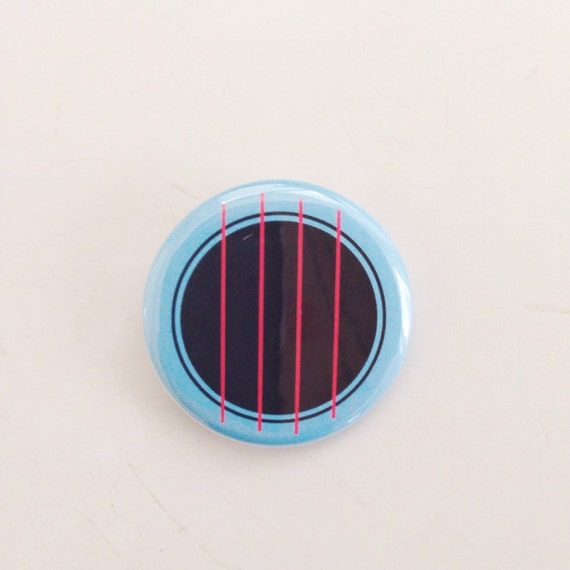 Ukulele Button - Four String Freak - Ukulele Sound Hole 1.25""
