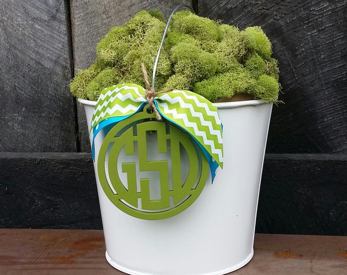 Personalized Easter Bucket - Monogram Easter Pail - Custom Easter Basket