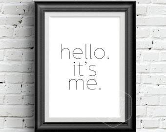 Adele Hello Etsy