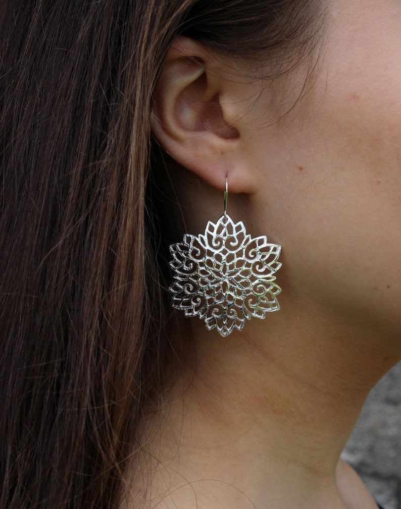 Melitina Balabin Snowstar Earrings