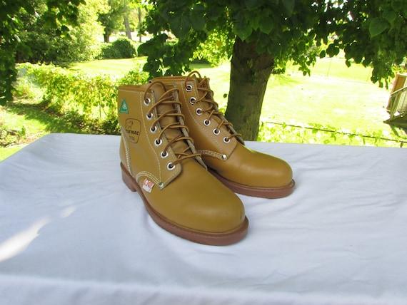 Vintage TUF MAC Womens Size 9 Yellow