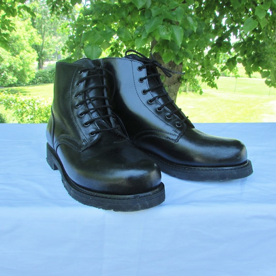 combat boots military parade boots marching boots army boots etsy