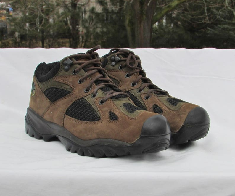 50a13ea4fb0 MERRELL Brown Suede Hiking Boots Ankle Boots Trail Boots with Vibram Soles,  Hiking Shoes Trail Shoes Snow Shoes All-Weather Hiking Boots