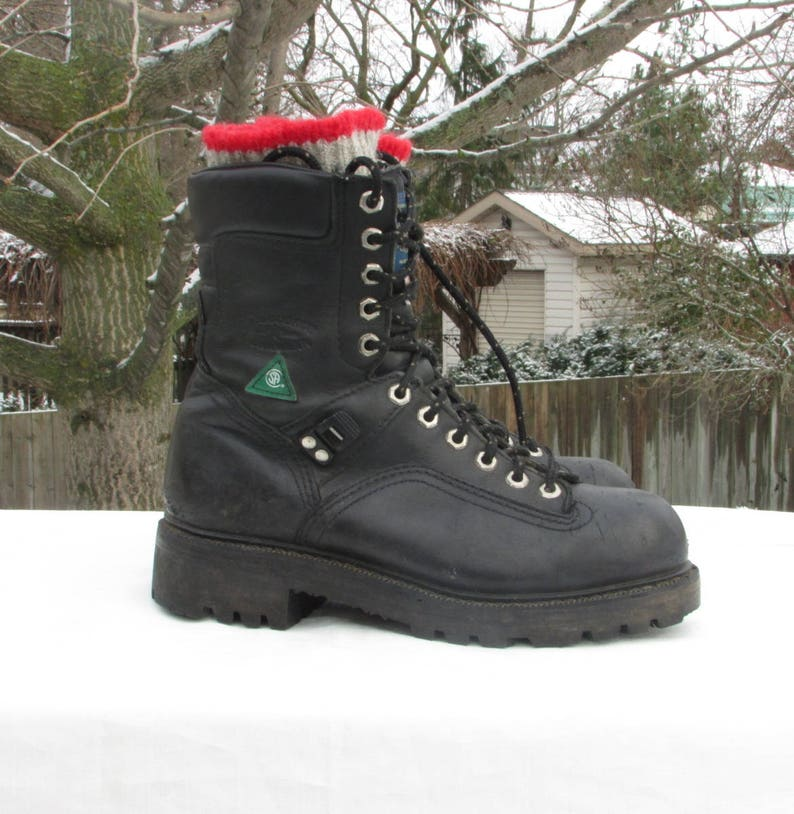 15fe9aab41b1 Combat Boots Size 6 Military Field Boots Safety Work Boots