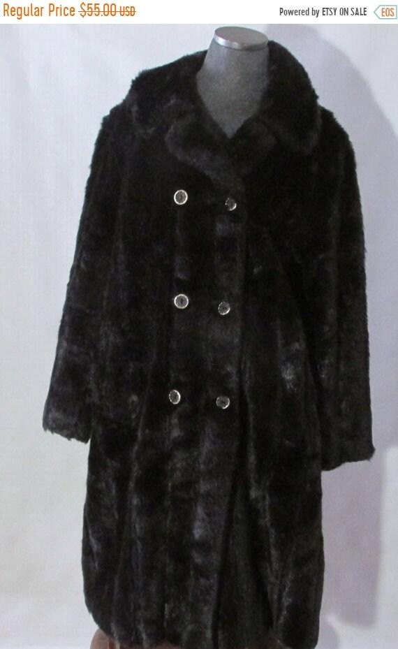 596e362e32ff Manteau en fourrure vente vente Vintage manteau en fausse