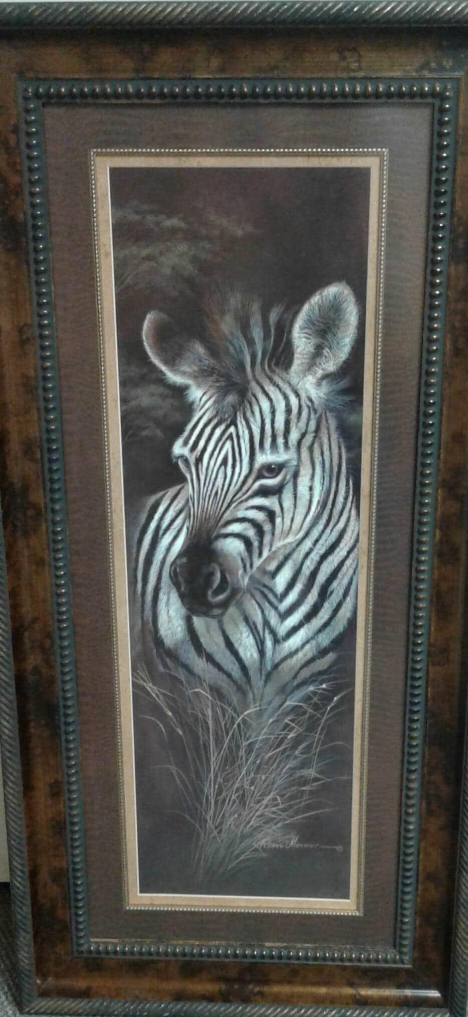Ruane Manning Zebra Ruane Manning Wildlife art Zebra art | Etsy