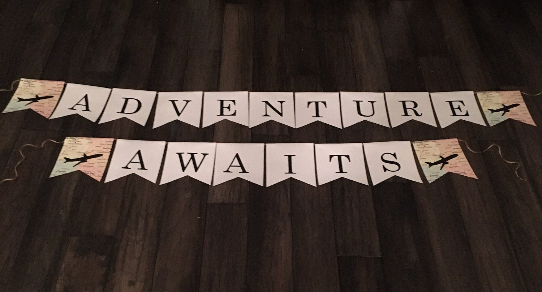 Adventure Awaits Banner Adventure Awaits Adventure Banner