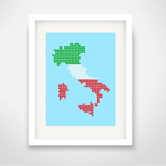 Time Passepartout Plus Roma It.Ciao Italia Italy Map You Can Include White Wood Frame Bella Italia Milano Roma Napoli Torino Palermo Genova Bologna Firenze Bari