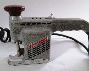 Vintage Weller Sabre Saw, Weller Sabre Saw Model 800, Woodworking Handheld Saber Saw, Portable Jigsaw, Electric Saw, Great Condition, WORKS