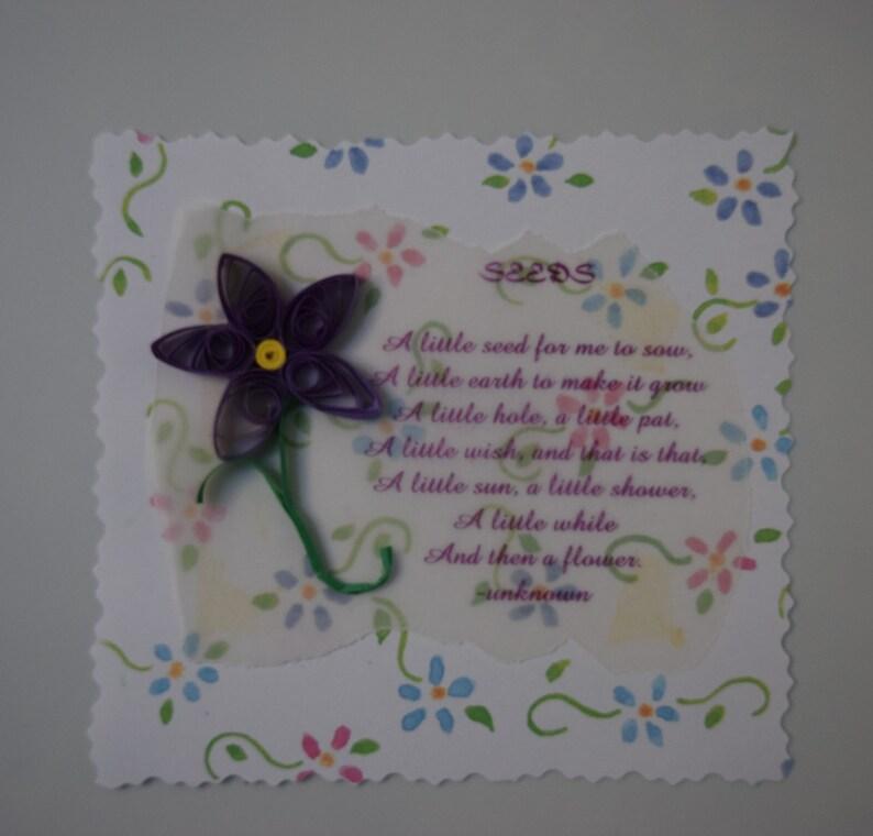 Handmade Quilled Journal Spot for Scrapbooking