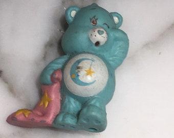 Bedtime Bear Care Bear 80s figurine