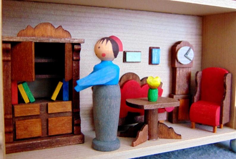 German Graupner Erzgebirge DisplayWall Hanging Ornament Doll House