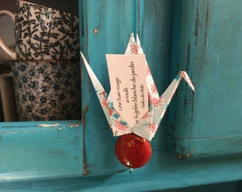 Porte-bonheur Origami