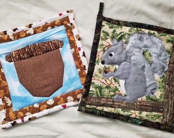 Nature Themed Potholders